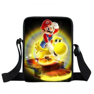 Super Mario Galaxy Glowing Yellow Yoshi Cross Body Bag