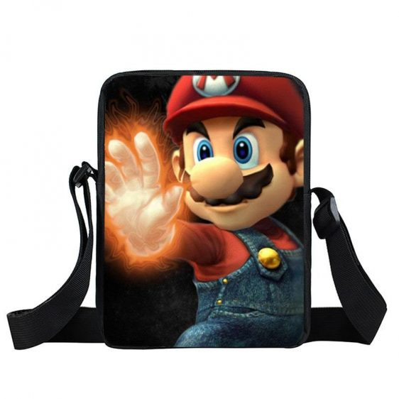 Super Mario Cool Fire Gloves Iconic Posture Cross Body Bag