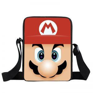Super Mario Adorable Mario Close Up Red Cross Body Bag