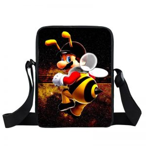 Super Mario Galaxy Vibrant Bee Costume Cross Body Bag