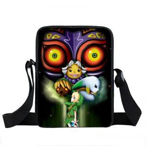 The Legend Of Zelda Majora's Mask Transformation Cross Body Bag