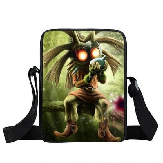 The Legend Of Zelda Surreal Majora's Mask Cross Body Bag