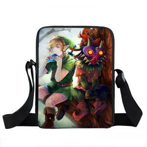 The Legend Of Zelda Majora's Mask Link Fan Art Cross Body Bag