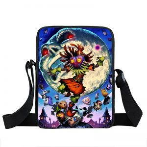 The Legend of Zelda Majora's Mask Creepy Moon Cross Body Bag