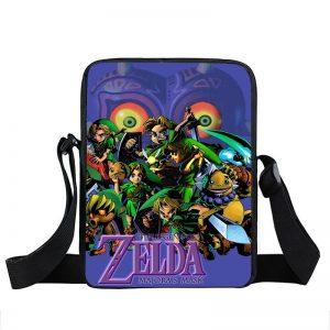 The Legend Of Zelda Majora's Mask Link Cross Body Bag