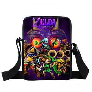 The Legend of Zelda Majora's Mask Purple School Cross Body Bag