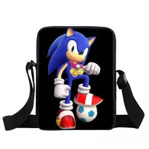 Sonic The Hedgehog Cool Football Champion Cross Body Bag