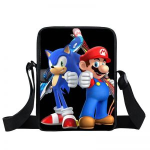 Super Mario And Sonic At The Olympic Games Cross Body Bag