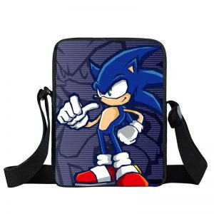 Sonic The Hedgehog Signature Thumbs Up Pose Cross Body Bag