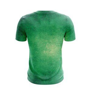The Legend Of Zelda Triforce Symbol Minimalist Green T-Shirt