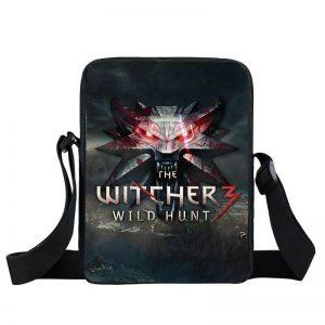 The Witcher 3 Wild Hunt Wolves Symbol Emblem Cross Body Bag