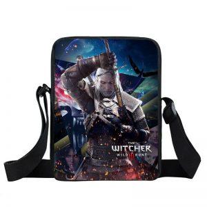The Witcher 3 Wild Hunt Geralt Fighting Look Cross Body Bag